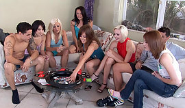 Happy women sitting there and human utterly lustful