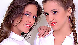the particular a pair of college hotties fancy object numerous than flirt